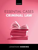 Essential Cases: Criminal Law