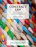 Contract LawText, Cases, and Materials