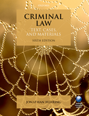 Criminal LawText, Cases, and Materials