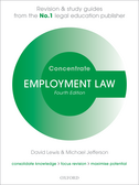 Employment Law ConcentrateLaw Revision and Study Guide