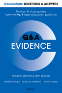 Concentrate Questions and Answers EvidenceLaw Q&A Revision and Study Guide