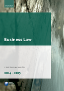 Business Law 2014-2015