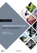 Administrative LawText and Materials