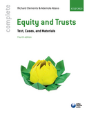 Complete Equity and TrustsText, Cases, and Materials