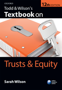 Todd & Wilson's Textbook on Trusts & Equity$