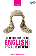 Introduction to the English Legal System 2015–2016