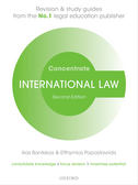 International Law ConcentrateLaw Revision and Study Guide