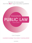 Public Law ConcentrateLaw Revision and Study Guide