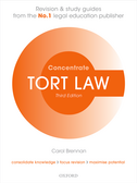 Tort Law ConcentrateLaw Revision and Study Guide