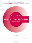 Intellectual Property Law ConcentrateLaw Revision and Study Guide