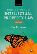 Holyoak and Torremans Intellectual Property Law