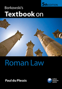 Borkowski's Textbook on Roman Law$