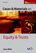 Cases & Materials on Equity & Trusts