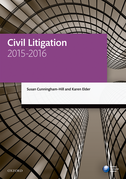 Civil Litigation 2015-2016