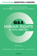 Concentrate Questions and Answers Human Rights and Civil LibertiesLaw Q&A Revision and Study Guide