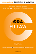 Concentrate Questions and Answers EU LawLaw Q&A Revision and Study Guide