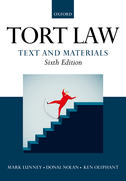 Tort Law: Text and Materials$