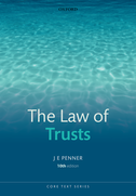 The Law of Trusts$