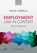 Employment Law in Context$