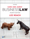 Card & James' Business Law$