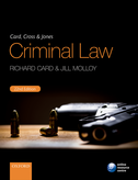 Card, Cross & Jones Criminal Law$