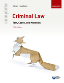 Complete Criminal LawText, Cases, and Materials$