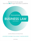 Business Law ConcentrateLaw Revision and Study Guide$