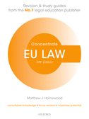 EU Law ConcentrateLaw Revision and Study Guide