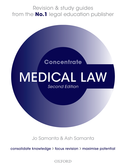 Medical Law ConcentrateLaw Revision and Study Guide