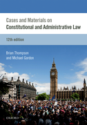 Cases & Materials on Constitutional & Administrative Law$