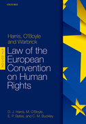Harris, O'Boyle, and Warbrick: Law of the European Convention on Human Rights$
