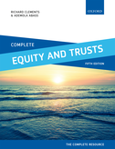 1. The birth of equity and trusts