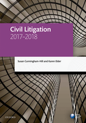 Civil Litigation 2017-2018