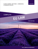 Complete EU LawText, Cases, and Materials$