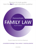Family Law ConcentrateLaw Revision and Study Guide