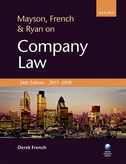 Mayson, French & Ryan on Company Law