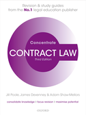 Contract Law ConcentrateLaw Revision and Study Guide