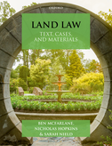 Land LawText, Cases & Materials