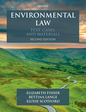 Environmental LawText, Cases & Materials