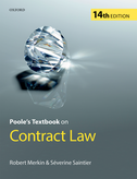 Poole's Textbook on Contract Law