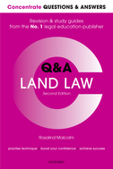Concentrate Questions and Answers Land LawLaw Q&A Revision and Study Guide