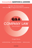 Concentrate Questions and Answers Company LawLaw Q&A Revision and Study Guide$