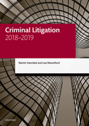 Criminal Litigation 2018-2019