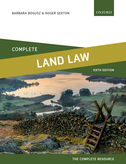Complete Land LawText, Cases, and Materials