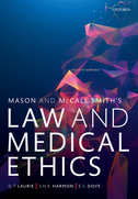 Mason and McCall Smith's Law and Medical Ethics$