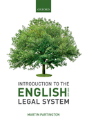Introduction to the English Legal System 2019-2020$