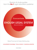 English Legal System ConcentrateLaw Revision and Study Guide