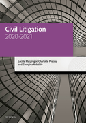 Civil Litigation 2020-2021