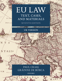 EU LawText, Cases, and Materials UK Version
