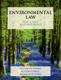 Environmental Law: Text, Cases & Materials$